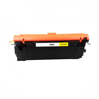 HP 508X (CF362X) Yellow Compatible Toner Cartridge