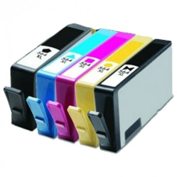 HP 564XL 5-PACK COMBO Remanufactured