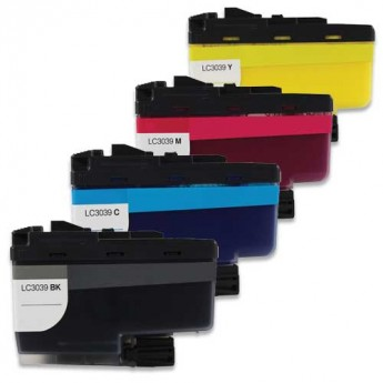Brother LC3039 Ultra High-Yield Compatible Ink Cartridge 4-Pack Carrotink.com