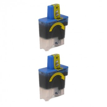 Brother LC41C Compatible Cyan Ink Cartridge Carrotink