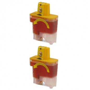Brother LC41Y Yellow Compatible Ink Cartridge Carrotink