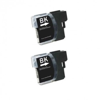 Brother LC61BK Black Compatible Ink Cartridge Carrotink
