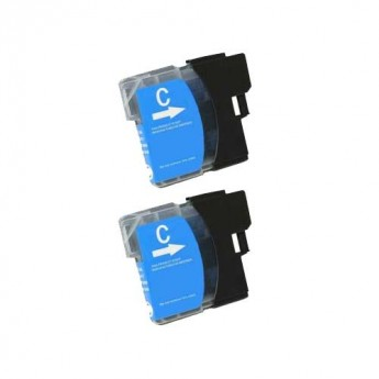 Brother LC61C Cyan Compatible Ink Cartridge Carrotink