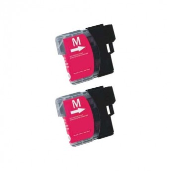 Brother LC61M Magenta Compatible Ink Cartridge Carrotink