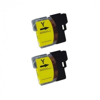 Brother LC61Y Yellow Compatible Ink Cartridge Carrotink