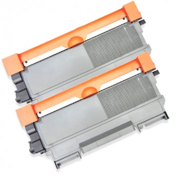 Brother TN450 (Replaces TN420) Black High-Yield Compatible Toner Cartridge Twin Pack