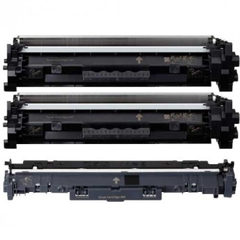 Canon 047 Toner & 049 Drum Compatible 3-Pack Combo Carrot Ink