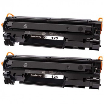 Canon 125 (3484B001AA) Black Compatible Toner Cartridge_Carrot_Ink