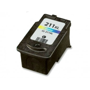 Canon CL-211XL (2975B001AA) Remanufactured Ink Cartridge - Color High Cap.
