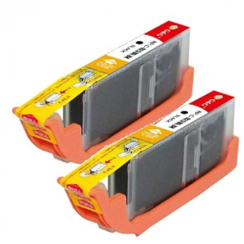 Canon CLI-251XL (6448B001) Black High-Yield Compatible Ink Cartridge Twin Pack