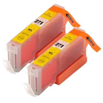 Canon CLI-271XL (0339C001) Yellow High-Yield Compatible Ink Cartridge