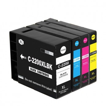 Canon PGI-2200XL 4 Pack Compatible Ink Cartridges