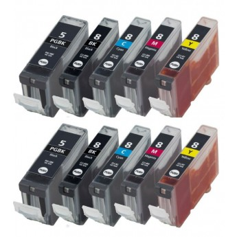 Canon PGI-5 and CLI-8 Combo 10-Pack Ink