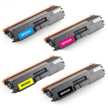 Brother TN336 4-Pack High Yield Compatible Toner Cartridge Combo