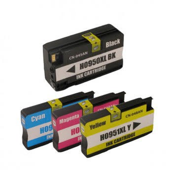 HP 950XL and 951XL Combo 5 Pack Remanufactured Ink Cartridges