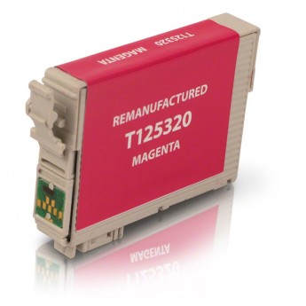 Epson 125 Magenta (T125320) Remanufactured Ink Cartridge