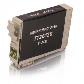 Epson 126 Black (T126120) Remanufactured Ink Cartridge - High Yield