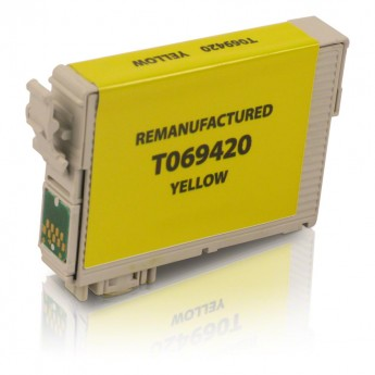 Epson 69 Yellow (T069420) Remanufactured Ink Cartridge - Yellow