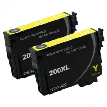 Epson 200XL Yellow Twin Pack Carrot Ink