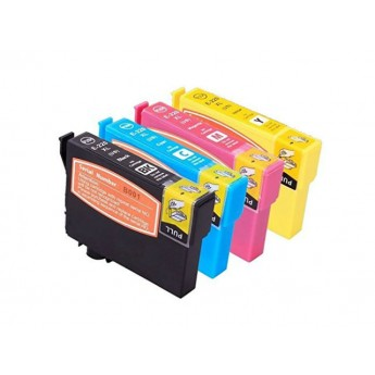 Epson 220XL 4-Pack High Capacity Remanufactured Ink Cartridges
