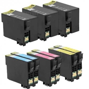 Epson 252XL High-Yield Remanufactured 9-Pack Carrotink