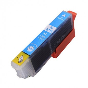 Epson 277XL (T277XL520) High Yield Light Cyan Remanufactured Ink Cartridge (Inkjet)