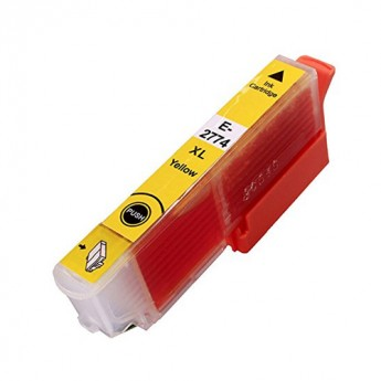 Epson 277XL (T277XL420) High Yield Yellow Remanufactured Ink Cartridge