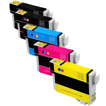 Epson 288XL High-Yield Remanufactured Ink Cartridge 5-Pack Carrot Ink