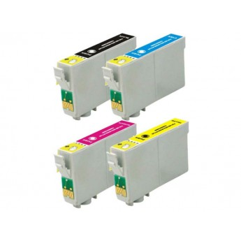 Epson 68 4-Pack High Yield Remanufactured Ink Cartridges