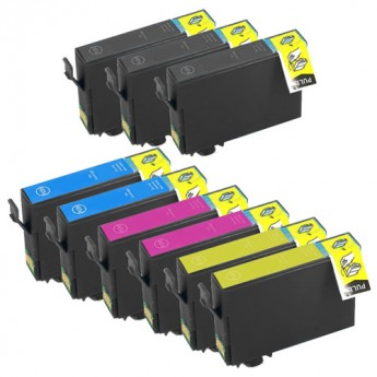 Epson 812XL High Yield Remanufactured Ink Cartridge 9-Pack