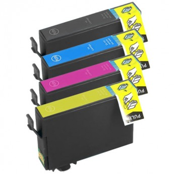 Epson 822XL High Yield Remanufactured 4-Pack