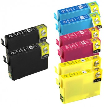Epson 202XL High-Yield Remanufactured Ink Cartridge 8-Pack