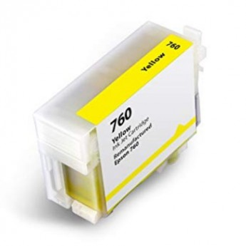 Epson 760 (T760420) Yellow Remanufactured Ink Cartridge