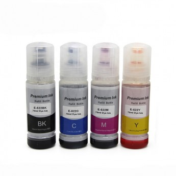 Epson T522 Compatible Ink Bottle 4-Pack Combo - Carrot Ink