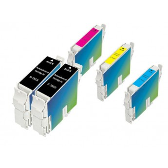 Epson remanufactured T321/422/423/424, 5 piece Carrot Bunch