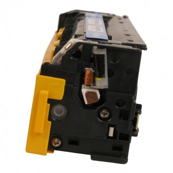 HP CB542A (HP 125A) Yellow Toner Side View