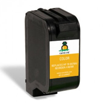 HP 78 (C6578DN) Remanufactured Ink Cartridge - Color - High Yield