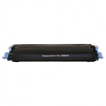 HP Q6002A (HP 124A) Remanufactured Laser Toner - Yellow