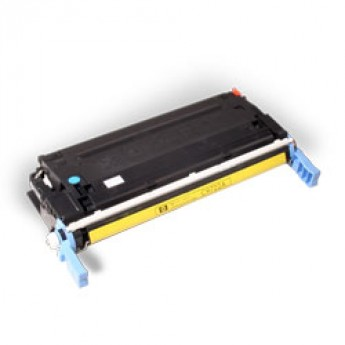 HP C9722A (641A) Remanufactured Laser Toner Cartridge - Yellow