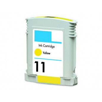 HP 11 Yellow (C4838AN) Remanufactured Ink Cartridge