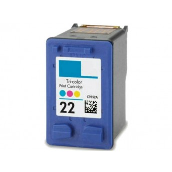 HP 22 Color (C9352AN) Remanufactured Ink Cartridge