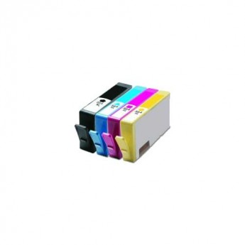 HP 564XL Remanufactured 4-Pack Combo