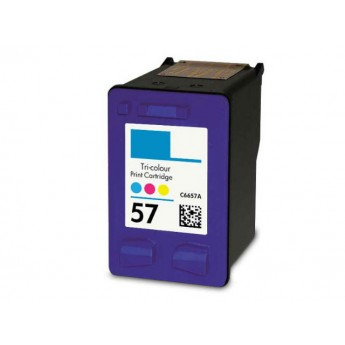 HP 57 Color (C6657AN) Remanufactured Ink Cartridge