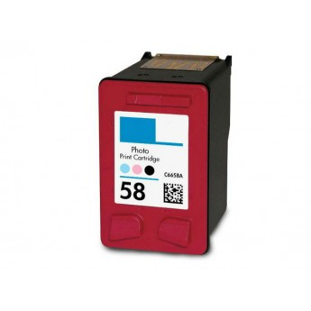 HP 58 (C6658AN) Remanufactured Ink Cartridge