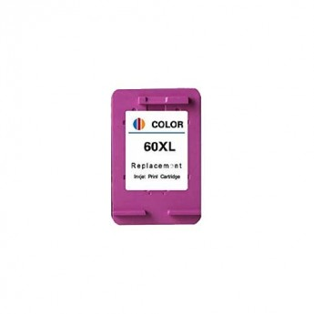 HP 60XL Color (CC644WN) Color Remanufactured High Yield Ink Cartridge - Carrotink