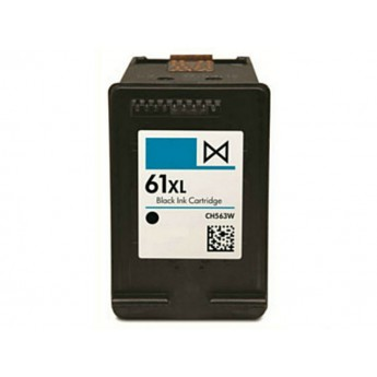 HP 61XL Black (CH563WN) Remanufactured High Yield Ink Cartridge