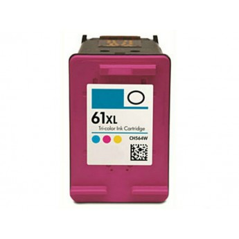 HP 61XL Color (CH564WN) Remanufactured High Yield Ink Cartridge