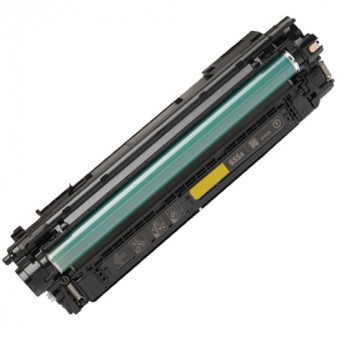 HP 655A (CF452A) Yellow Remanufactured Laser Toner Carrot Ink