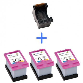 HP 67XL (3YM58AN) Color Remanufactured High Yield Eco-Saver