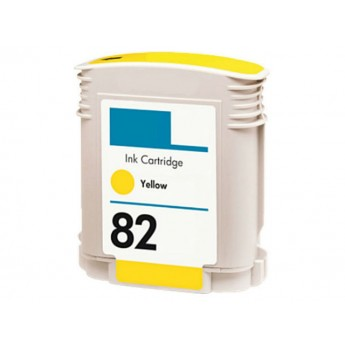 HP 82 Yellow (C4913AN) Remanufactured Ink Cartridge